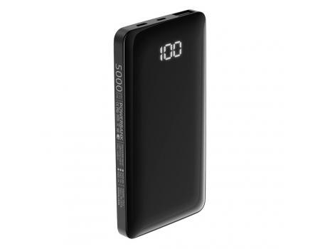 Внешний аккумулятор с дисплеем Olmio FS-5 5000 mAh