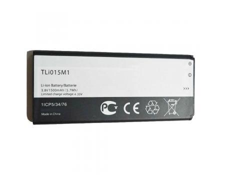 Аккумулятор для Alcatel 4034D Pixi 4 TLi015M1 1500mAh