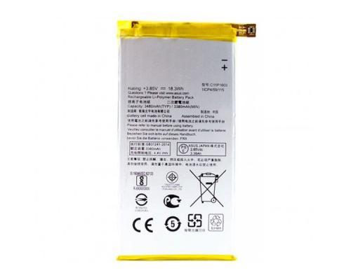 Аккумулятор для ASUS ZenFone 3 Deluxe C11P1603 3480mAh