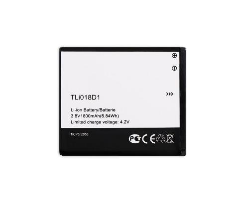 Аккумулятор для Alcatel 5015D/5038X/5038D Pop 3/Pop D5 TLi018D1 1800mAh