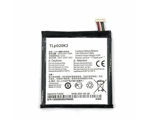 Аккумулятор для Alcatel 6039Y Idol 3 TLp020K2 2000mAh