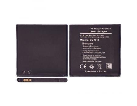 Аккумулятор для BQ 4072 Strike Mini/Micromax D303 1300mAh