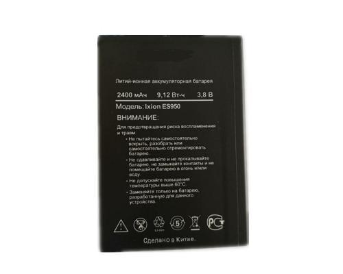 Аккумулятор для DEXP Ixion ES950 2400mAh