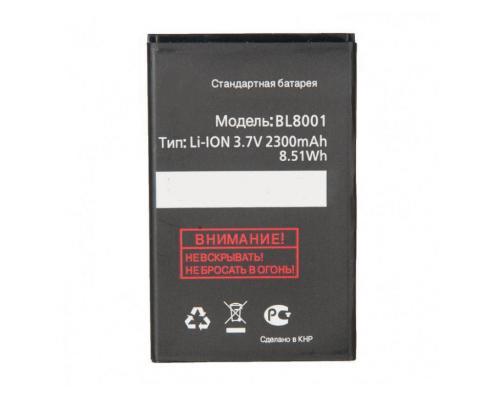 Аккумулятор для Fly IQ436/Era Nano 3/IQ436i/Era Nano 9/IQ4490/Era Nano 4 BL8001 2300mAh