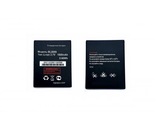 Аккумулятор для Fly Nimbus 1 FS451 BL8009 1800mAh