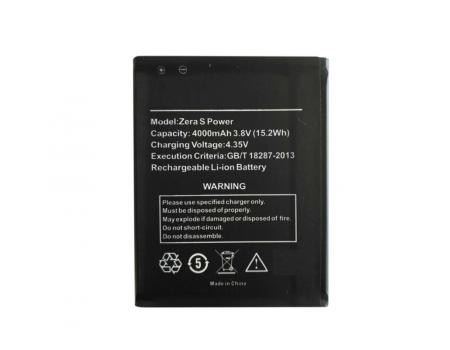 Аккумулятор для Highscreen Zera S Power 4000mAh