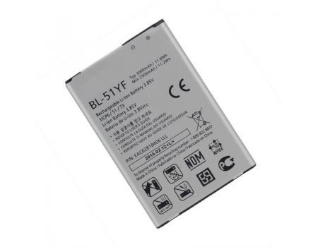 Аккумулятор для LG G4 Stylus/G4/Ray BL-51YF 3000mAh
