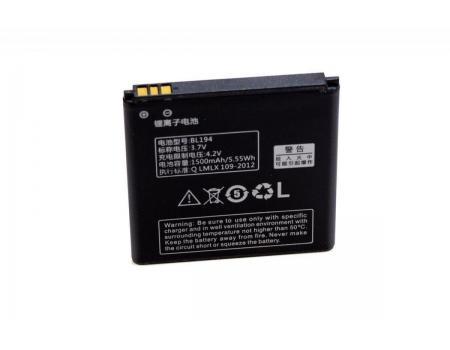 Аккумулятор для Lenovo A520/A780/A690/A660/A228t/A560E/A790E/A668T BL194 1500mAh