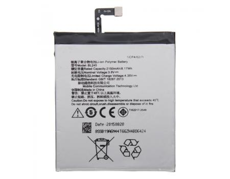 Аккумулятор для Lenovo S60 BL245 2150mAh