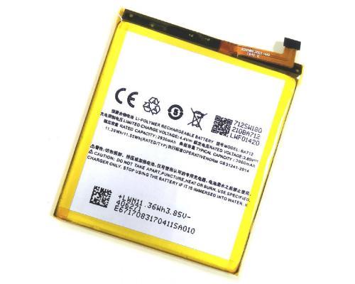 Аккумулятор для Meizu M6s BA712 3000mAh