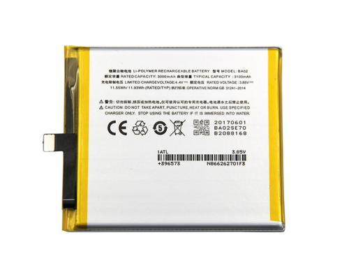 Аккумулятор для Meizu M3E BA02 3000mAh