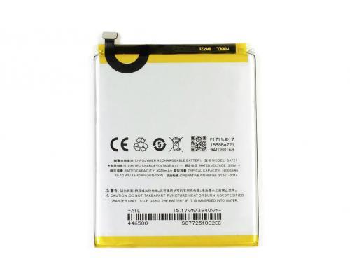 Аккумулятор для Meizu M6 Note BA721 4000mAh