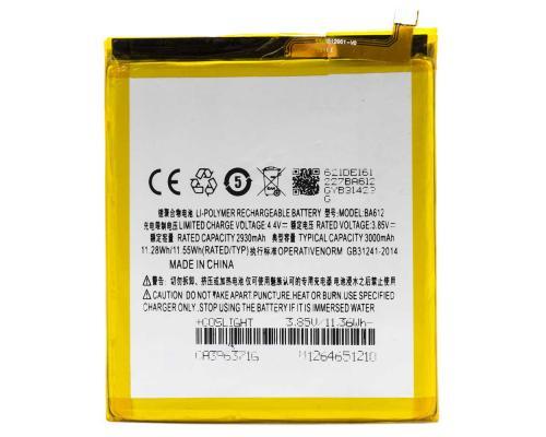 Аккумулятор для Meizu M5s BA612 3000mAh