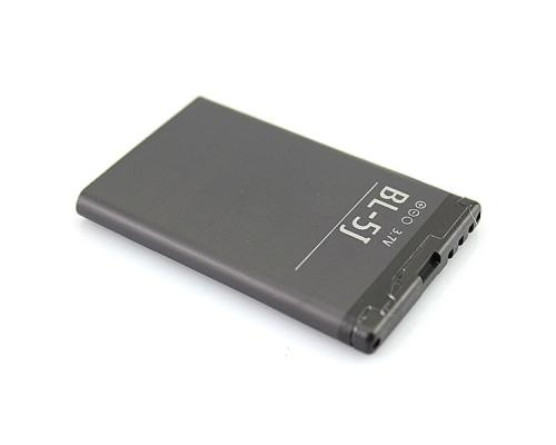 Аккумулятор для Nokia 5800/5230/C3-00/X6/200/302/520/525/530 Dual BL-5J
