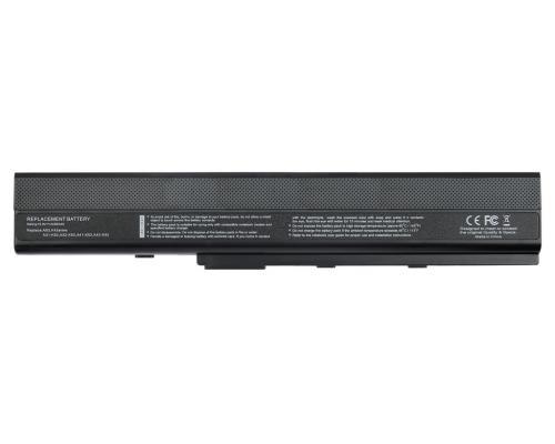 Аккумулятор для ноутбука Asus K52F/X42J/A42/A52/A50 (A32-K52,K42) 4400mAh Vixion