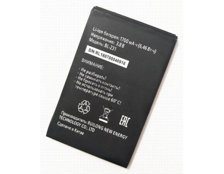 Аккумулятор для Tele2 Midi BL-231 1700mAh