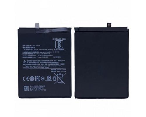 Аккумулятор для Xiaomi Mi A2 BN36 3100mAh
