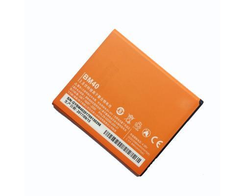 Аккумулятор для Xiaomi Redmi 1S/Hongmi 1S/Mi2A BM40/BM41 2050mAh (аналог)