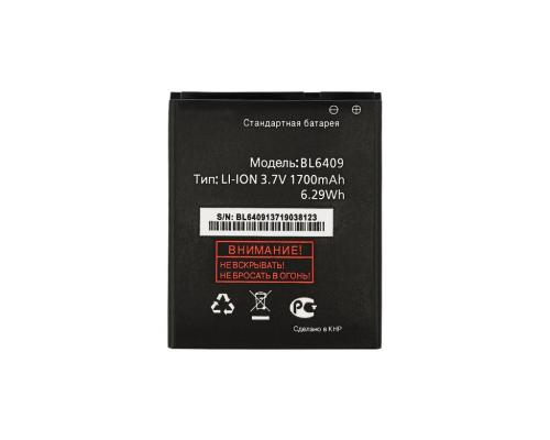 Аккумулятор для Fly IQ4406 Era Nano 6/ARK Benefit S451 BL6409 Vixion
