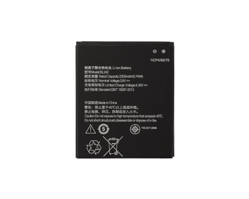 Аккумулятор для Lenovo A6000 K3 Music Lemon/A6010/A2020 BL242 Vixion