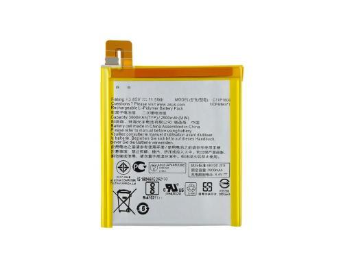 Аккумулятор для Asus Zenfone 3 Laser ZC551KL C11P1606 Vixion