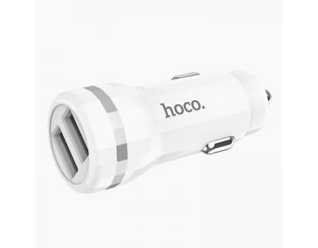 Автомобильное зарядное устройство 2USB Hoco Z27
