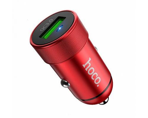 Автомобильное зарядное устройство USB Hoco Z32 QC 3.0