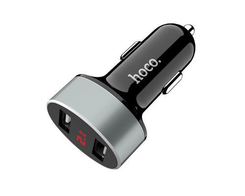 Автомобильное зарядное устройство 2USB Hoco Z26