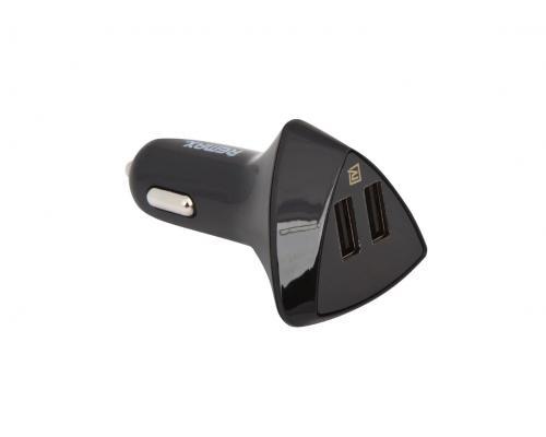 Автомобильное зарядное устройство 2USB 3.4А с дисплеем Remax Alien Series RCC208