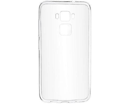 Силиконовый чехол для Asus Zenfone 3 Max ZC553KL плотный прозрачный