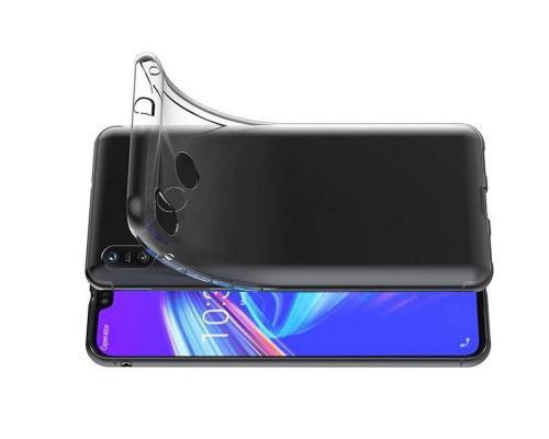 Силиконовый чехол для Asus Zenfone Max Pro M2 ZB631KL плотный прозрачный