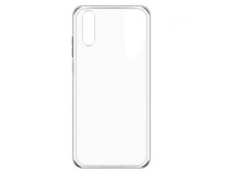 Силиконовый чехол для Huawei P20 плотный прозрачный