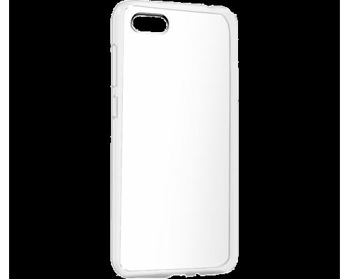 Силиконовый чехол для Honor 7S плотный прозрачный