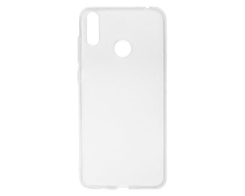 Силиконовый чехол для Honor 8C плотный прозрачный