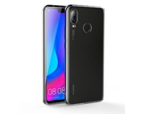 Силиконовый чехол для Huawei Nova 3 плотный прозрачный