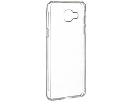 Силиконовый чехол для Samsung A3 2017 плотный прозрачный