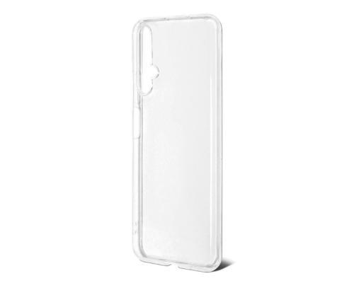 Силиконовый чехол для Huawei Honor 20 плотный прозрачный