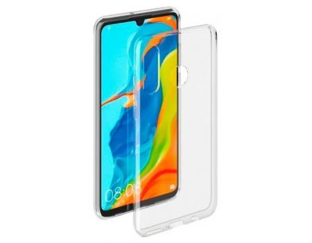Силиконовый чехол для Huawei P30 Lite/Honor 20s плотный прозрачный