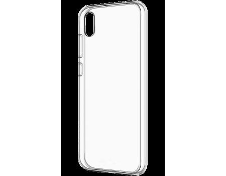 Силиконовый чехол для Huawei Y5 2019/Honor 8S плотный прозрачный