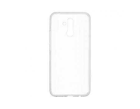 Силиконовый чехол для Huawei Mate 20 Lite плотный прозрачный