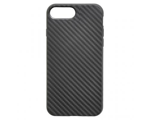 Силиконовый чехол для iPhone 7/8 Plus Soft-Touch Карбон