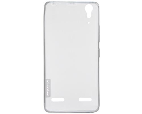 Чехол-накладка Nillkin для Lenovo K3 (A6000) силиконовый прозрачный