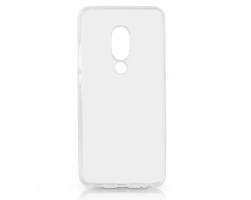 Силиконовый чехол для Meizu 15 Lite плотный прозрачный