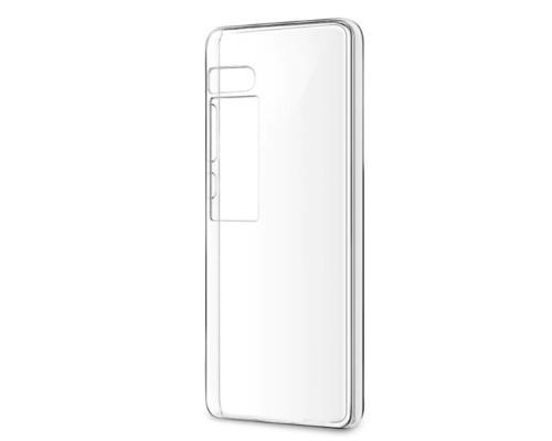 Силиконовый чехол для Meizu Pro 7 Plus плотный прозрачный