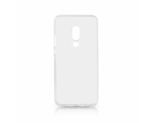 Силиконовый чехол для Meizu 15 Plus плотный прозрачный