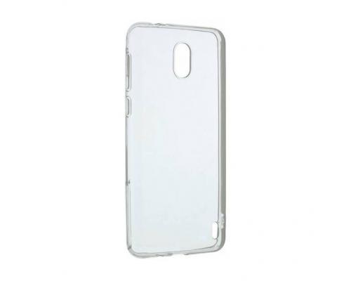 Силиконовый чехол для Nokia 1 плотный прозрачный