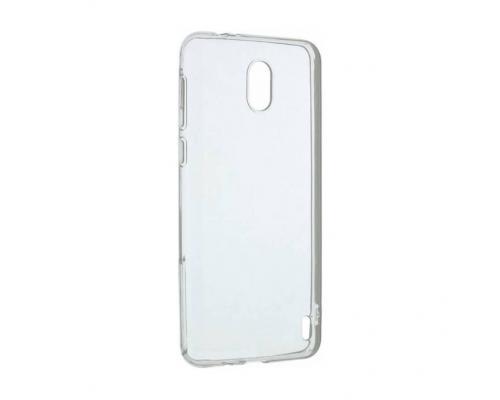 Силиконовый чехол для Nokia 2 плотный прозрачный