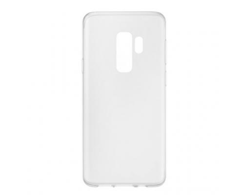 Силиконовый чехол для Samsung Galaxy S9 Plus плотный прозрачный