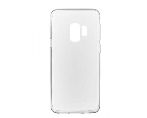 Силиконовый чехол для Samsung Galaxy S9 плотный прозрачный
