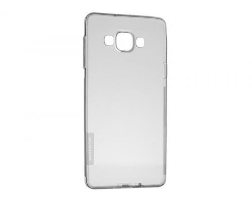 Чехол-накладка Nillkin для Samsung Galaxy E7 (E700) силиконовый прозрачный